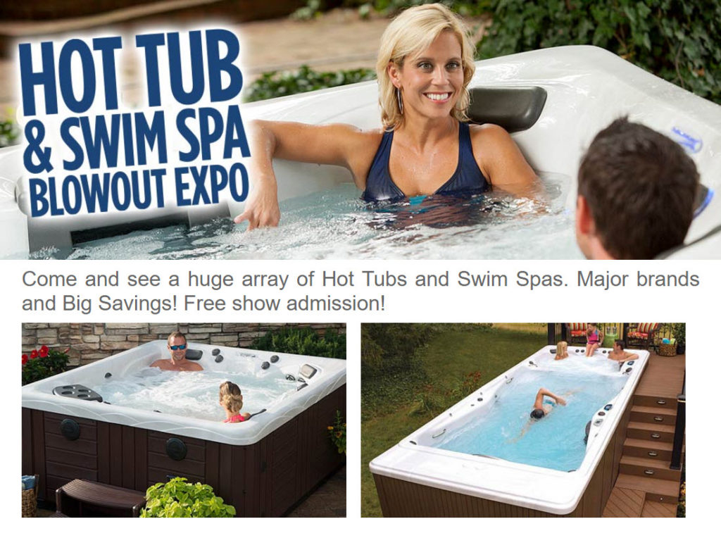 Hot Tub & Michael Phelps Swim Spa Sale - Fox Valley Home and Garden ...